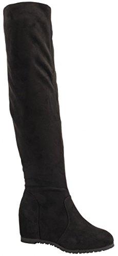 Elara - botas clásicas Mujer Schwarz New York