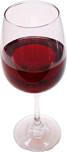 Red Wine Glass Fake Drink ()