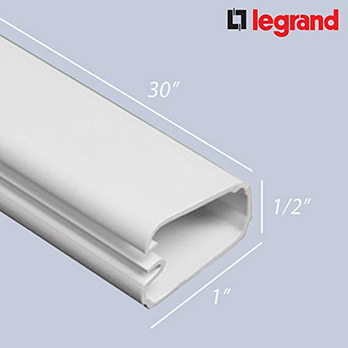Legrand Wiremold CordMate III High Capacity Cables Cord Plastic Cover Kit
