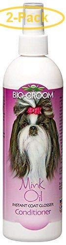 Bio Groom Mink Oil Spray 12 oz (2 Pack)