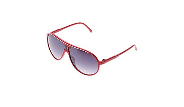 a5f9d9928e GXI Fashion Gray Lens Red Orange Frame Sunglasses (2 Colors Selectable)