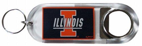 NCAA Illinois Fighting Illini Keychain Lucite Bottle ()