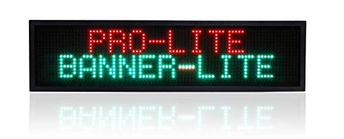 (Banner-Lite Ultra Bright LED Illuminated Programmable Window Advertising & Promotional Business Display Sign, 10.75