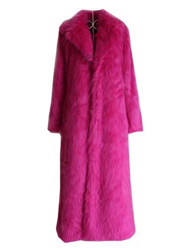 Chaqueta Chaqueta Manga Abrigada Mujer Abrigo Larga Pink De De M Esponjosa Huaishu De xI5dgq0qw