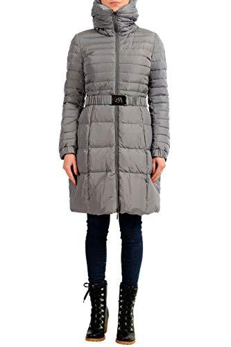 Moncler Women's FRAXINELLE Gray Down Parka Jacket Moncler Sz 1 US S