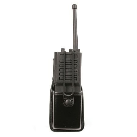 Molded Radio Pouch - BLACKHAWK! Molded Plain Black Radio Pouch