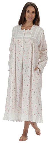 Henrietta Cotton Victorian Nightgown Pockets product image
