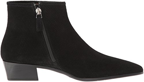 Perforated Women's Black Aquatalia Fire Boot Suede Ankle 6EvSwqCOx