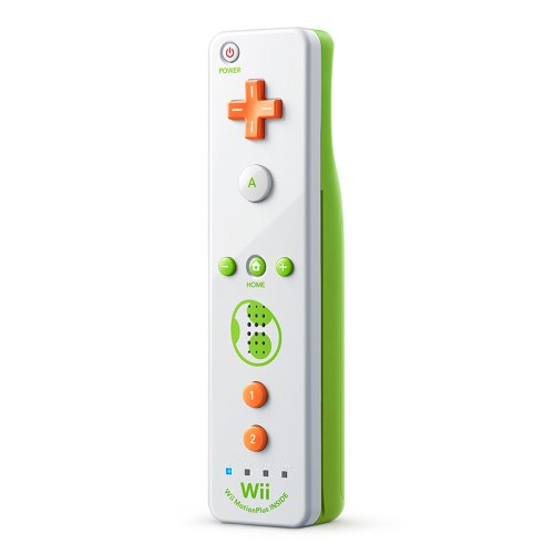 Nintendo Wii Remote Plus, Yoshi - http://coolthings.us