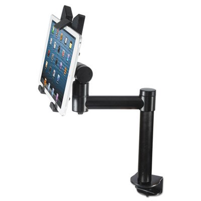 Tablet Desk Top Kiosk Stand, Black, Sold as 2 Each by Kantek