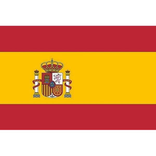Alta calidad de la bandera de España 90 x 150 cm reforzado ...