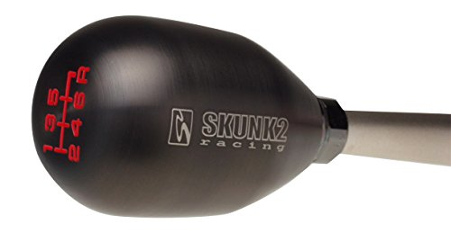 Skunk2 Racing 627-99-0081 Shift Knob 10 x 1.5 Thread For Use w/6 Speed Transmission Weighted Approx. 440 Grams Billet Stainless Steel PVT Titanium Coating Shift Knob