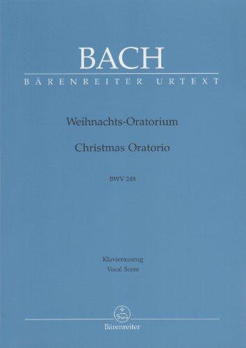 Bach Sheet Music Christmas (Bach: Christmas Oratorio, BWV 248 (Vocal Score))