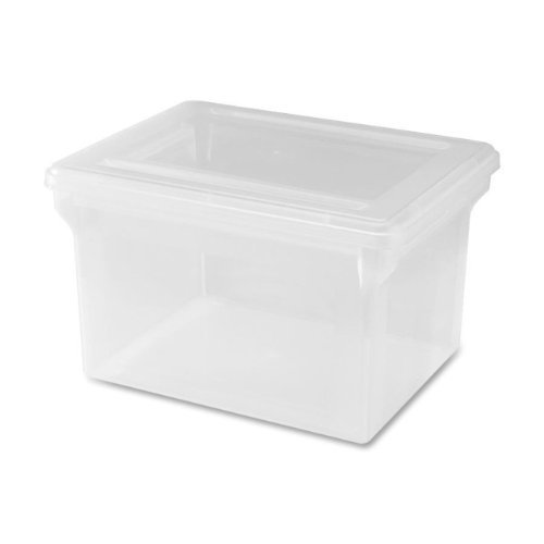 Amazoncom Lorell LLR68925 LetterLegal Plastic File Box Home