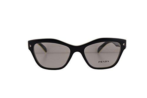 Prada PR27SV Eyeglasses 51-17-140 Gray Yellow UR01O1 VPR27S For Women (FRAME - Sunglasses Prada Wrap