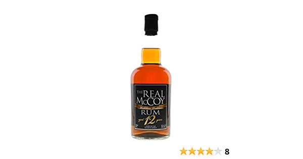 The Real McCoy The Real McCoy 12 Years Old Single Blended Rum 46% Vol. 0,7l - 700 ml
