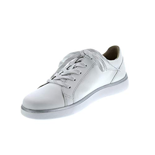 Weiß Waldläufer À Femme Ville Chaussures Lacets Pour De a0OrSqwa