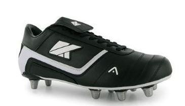 Kooga , Chaussures de rugby pour homme multicouleur Black / White 11 UK / 46 EU