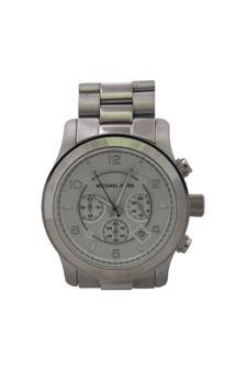 3721686bae48 Amazon.com   MICHAEL KORS Mk8086 Runway Oversized Silver-Tone Watch Watch  For Men   Beauty