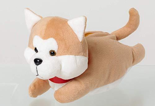 秋田犬 ぬいぐるみポーチ BOOK 画像 B