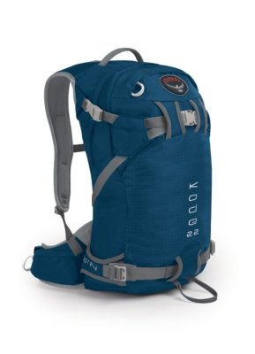 Osprey Kode 22 Ski/Snow Pack – Small Blue Smoke, Outdoor Stuffs