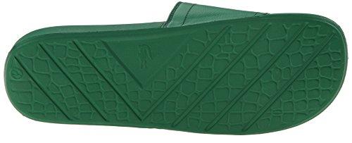 Lacoste Mens Fraiser Brd1 Platform Sandalo Verde / Verde