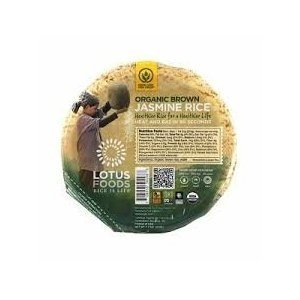 Lotus Foods Rice Bowl Brn Jasmine Org