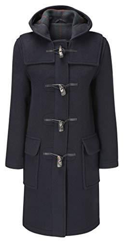 (Original Montgomery Womens Duffle Coat -- Navy Size 8)
