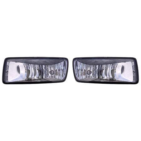 (Fits 2006-2010 Ford Explorer Pair Fog Lights Driver and Passenger Side XLS/XLT; w/o Ironman Pkg; w/o Sport Pkg/EDDIE BAUER/LIMITED FO2594100 FO2595100 - replaces 6L2Z 15201AA 6L2Z)