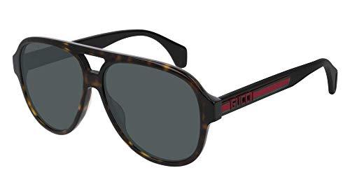Sunglasses Gucci GG 0463 S- 003 HAVANA/GREEN BLACK