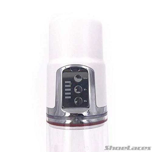 ShoeLaces Automatic Clear Enlarger Vacuum Power Pump Enhancement Electric Toy for Men
