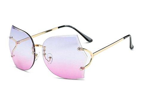 Clásicas Color Unisex Sol de Polvo de Sol Gafas Verano Gafas Degradado JxucTo de de azqRw1n0tx