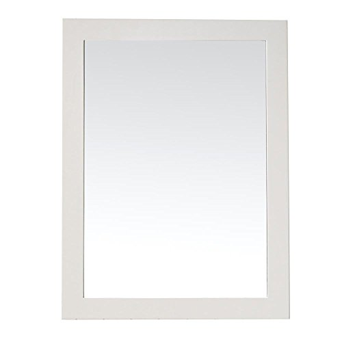 - Martha Stewart Living Seal Harbor 24 in. x 32 in. Framed Wall Mirror in Sharkey Grey