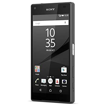 Sony Xperia Z5 Compact Unlocked Phone - Black (U.S. Warranty)