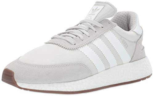 adidas Originals Men's I-5923 Shoe, Grey/White/Grey, 9 M US (Adidas Vintage Sneakers)