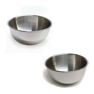 RSVP Endurance 6 qt. and 8 qt. Mixing Bowl Set