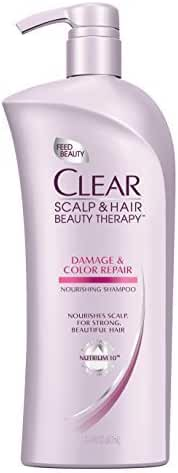Clear Damage and Color Repair Nourishing Shampoo, 21.9 Fluid Ounce by Clear