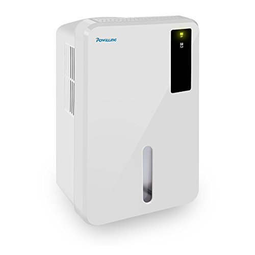 Powilling 1500ML Small Mini Dehumidifiers for Basements, Bedroom, Bathroom, Grow Room, RV, Office and Garage with Super Quiet Operation and Air Purification Portable Dehumidifier for Home by Powilling