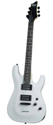 Schecter Omen-6 Electric Guitar (Gloss White) by Schecter