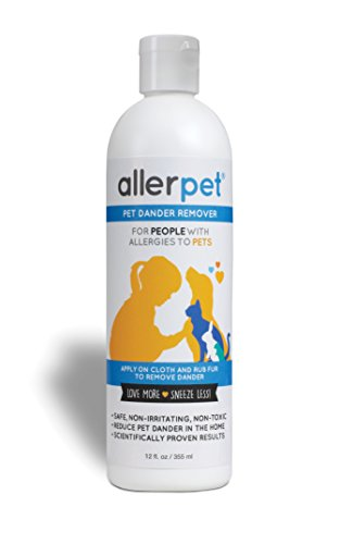 Allerpet Pet Dander Remover, 12 oz (Best Homemade Room Deodorizer)