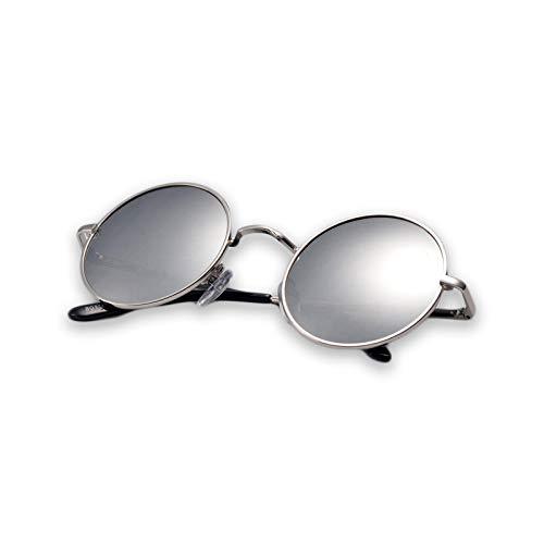 Silver Lunettes UV Classiques Lunettes Soleil TLMY Couleur De de Protection Soleil Silver p1ZaggwqS