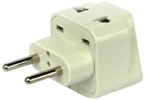 CKITZE BA-9C Universal 2 in 1 Plug Adapter Type C for Europe, Russia, Turkey and More - CE...