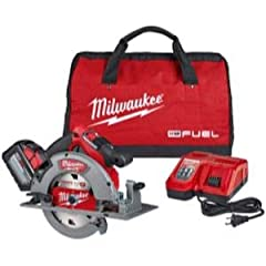 """Features & benefits: powerstate™ Brushless motor: purposely built for the M18 fuel™ 7-1/4"""" Circular saw to generate the power and performance of a 15A corded Circular saw. redlink plus™ intelligence: ensures optimal performance and provid..."""