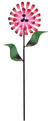 Steven Cooper Metalsmith Aflwr 36 S Artificial Garden Flower On Footed Stake 3 Feet Dark Pink