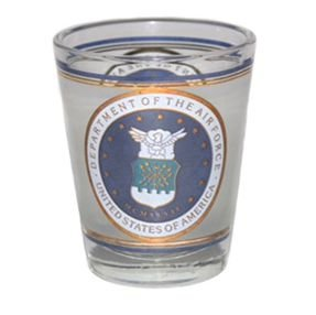 Air Force Shot Glass (Celebration Design Collectible Shot Glass)