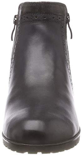Caprice Gris 203 25315 dk Femme Comb Grey Botines AwAvR6