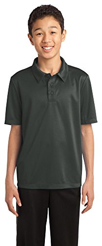 port-authority-youth-silk-touch-performance-polo-steel-grey-large