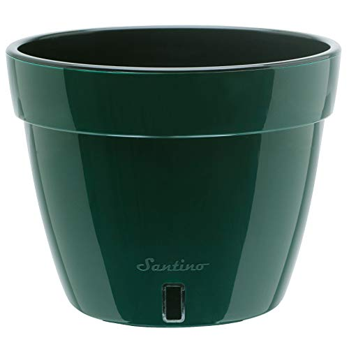 Gardenera ASTI Self Watering Planter - Modern Flower Pot with Water Level Indicator for All House Plants, Flowers, Herbs, Succulents and Hanging Plants