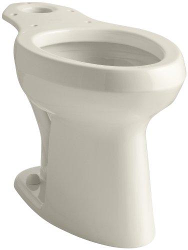 47 Bowl Highline Toilet - KOHLER K-4304-47 Highline Pressure Lite Toilet Bowl, Almond