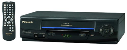 Panasonic PV-V4021 4-Head VCR (1999 Model)